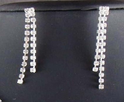 Strand Necklace and Double Strand Earrings